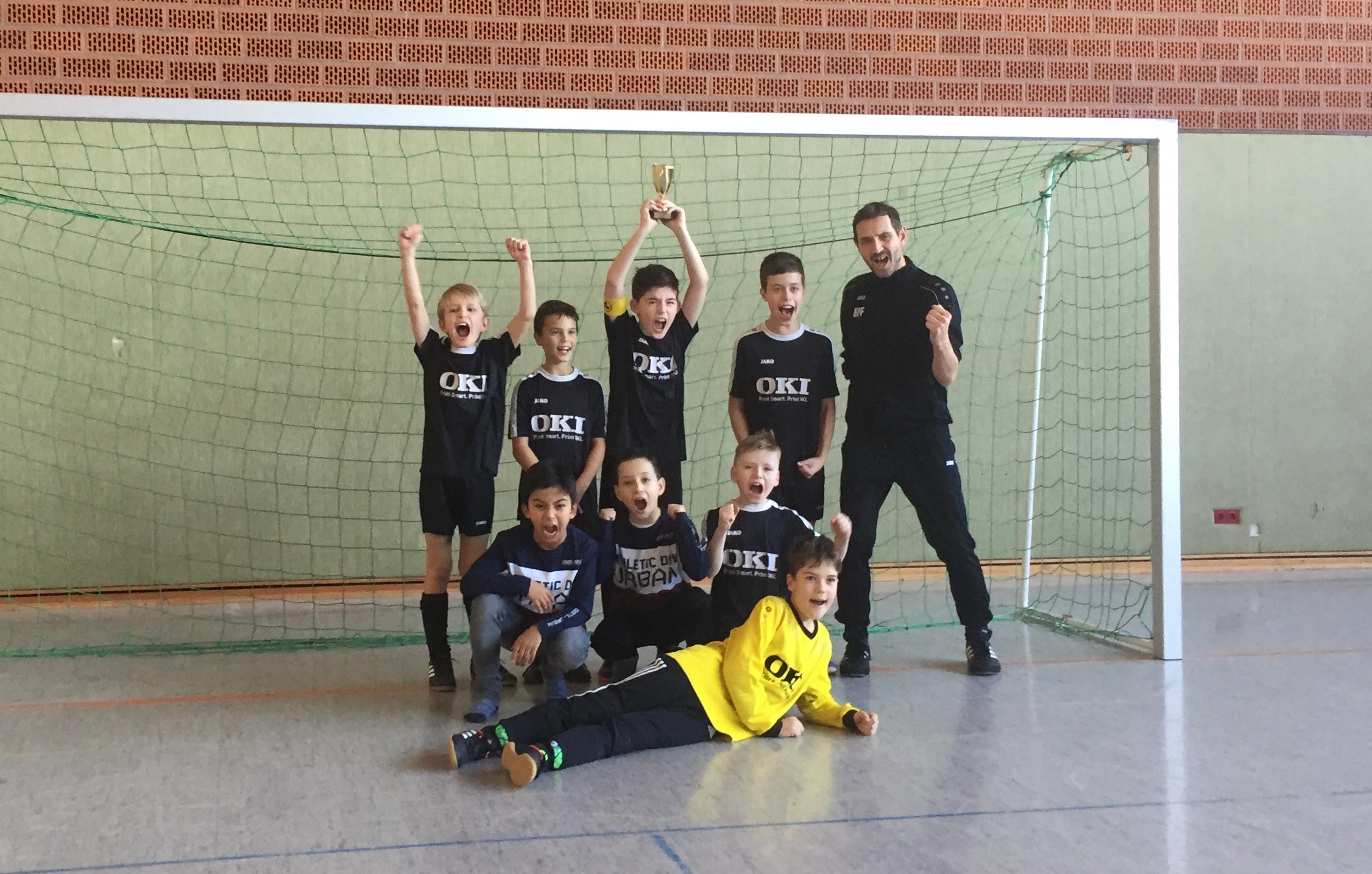 E1-Jugend gewinnt Hallenturnier in Wöllstein